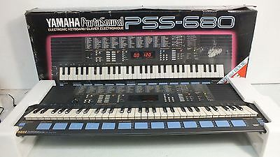 Yamaha PSS-680 PortaSound Home Music Work Station Synth Great Condition