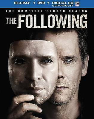 The Following: The Complete Second Season 2 (Blu-ray Disc + DVD, 2014, 7-Discs)