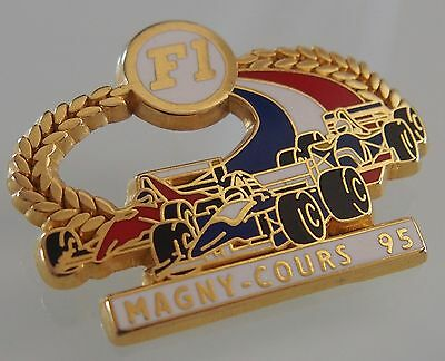 Pin's Formule 1 Magny Cours 95 - signé JFG MIAMI