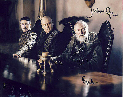 •Sale• Game Of Thrones Julian Glover (Pycelle) Signed 10x8 Photo