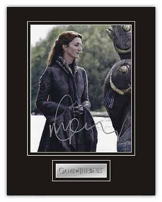 •Sale• Game Of Thrones Michelle Fairley (Catelyn Stark) Signed 14x11 Display