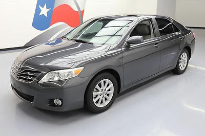 2010 Toyota Camry  2010 TOYOTA CAMRY XLE SUNROOF HTD LEATHER BLUETOOTH 60K #038589 Texas Direct