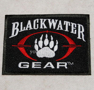 Tactical Paintball Black Water Bear's-Paw  Patch -32414