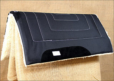 Black Professional Choice Horse Western Equisential Work Saddle Pad