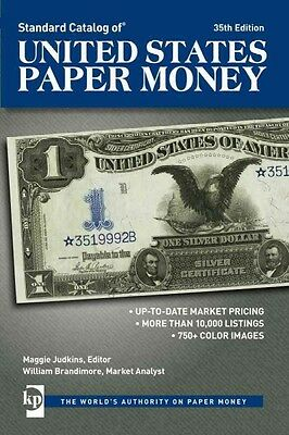 Standard Catalog of United States Paper Money~1,000 Color Notes~NEW 2016 35th Ed