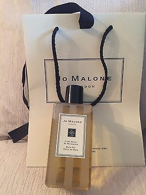 Jo Malone Bath Oil Lime Basil &  Mandarin 250ml Genuine Item