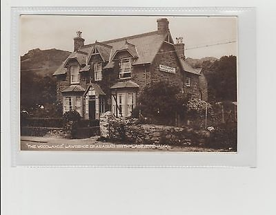 Tremadoc The Woodlands Hotel Lawrence Of Arabia's Birthplace RPPC U/P c1930/40s