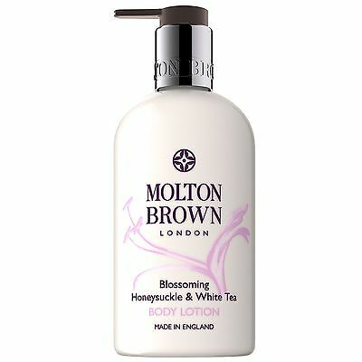 NEW Molton Brown Blossoming Honeysuckle & White Tea Body Lotion 300ml