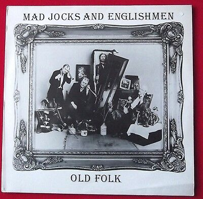 MAD JOCKS & ENGLISHMEN  - Old Folk - Vinyl LP NEAR MINT