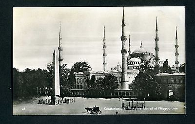 Turkey.constantinople.mosquee Ahmed Et Ihippodrome .pub Isaac Ahitouv.ref No.28