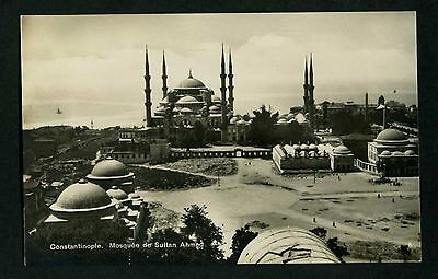 Turkey.constantinople.mosquee Du Sultan Ahmed .pub Isaac Ahitouv.ref No.8