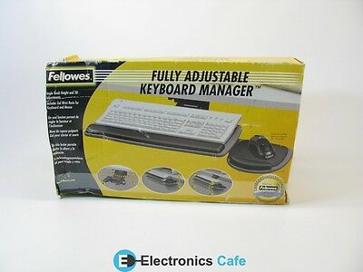 Fellowes 855193 Fully Adjustable Keyboard Manager *New/ Unused*