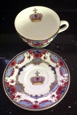 Royal Dalton Canadian Pacific Hotels Commemorative China Cup & Saucer