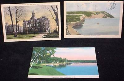 3 Vintage NS Nova Scotia Postcards Goldboro Truro Cape Blomidon