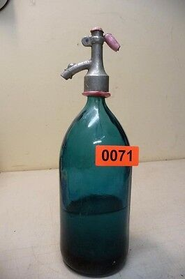 Nr. 0071.   Alte Sodaflasche  Siphonflasche 1 L  Old Soda Siphon Seltzer Bottle