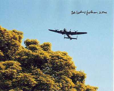 •Sale• The Dam Busters Johnny Johnson Signed 10x8 Photo