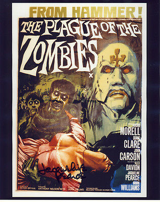 •Sale• The Plague Of The Zombies (Jacqueline Pearce) Signed 10x8 Photo
