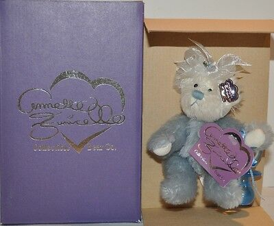 ADORABLE BLUEY with HIS CHEWY BEAR by ANNETTE FUNICELLO - IN ORIGINAL BOX