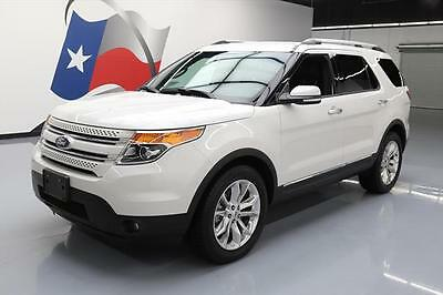 2015 Ford Explorer Limited Sport Utility 4-Door 2015 FORD EXPLORER AWD LIMITED LEATHER NAV 20'S 46K MI #B73168 Texas Direct Auto
