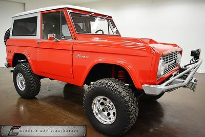 1971 Ford Bronco Truck/SUV 1971 Ford Bronco 4x4 Custom
