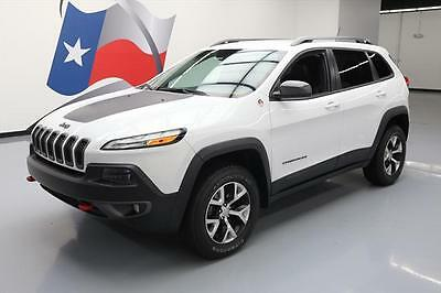 2014 Jeep Cherokee  2014 JEEP CHEROKEE TRAILHAWK 4X4 HTD LEATHER NAV 35K MI #216277 Texas Direct