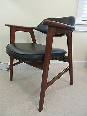Original Paoli Mid-Century Danish Modern Arm Chair Vintage 1970  Eames Retro USA