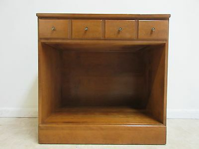 Ethan Allen Heirloom Nutmeg CRP Room Plan Open Bookcase Base  B