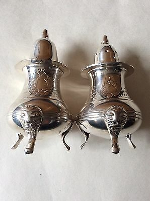 Silver Plated/EPNS Salt&Pepper Curet Set