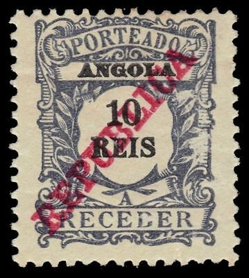 """ANGOLA J12 (Mi P12) - Numeral of Value """"Postage Due"""" (pa64738)"""