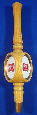 Miller High Life Beer Tap Wood Handle