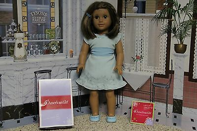 """American Girl 2012 """"Petals and Posies + Rare Barrette """" - COMPLETE-RETIRED-MINT"""