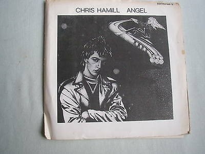 "CHRIS HAMILL Angel UK 7"" single 1981 ex+/vg LIMHAL KAJAGOOGOO"