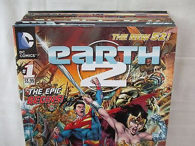 EARTH 2 #1-21 + 0 & Annual 1-2 Complete Set Comic Lot DC New 52 Justice Society