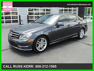 2014 Mercedes-Benz C-Class C 250 Sport 2014 C250 Sport Certified We Finance and assist with Shipping