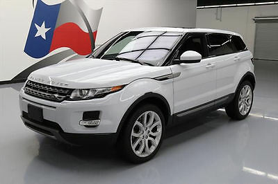 2015 Land Rover Evoque Pure Sport Utility 4-Door 2015 LAND ROVER EVOQUE PURE PLUS AWD PANO ROOF 20'S 16K #074095 Texas Direct