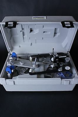 Whip Mix Panadent Dental Lab Articulator w/ Facebow, Case, & Mounting Plates