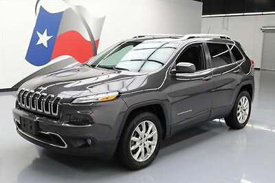 2014 Jeep Cherokee  2014 JEEP CHEROKEE LTD 4X4 LEATHER PANO ROOF NAV 37K MI #257224 Texas Direct