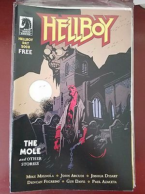 Hellboy The Mole And Other Stories Free Comic Book Day 2008 Special Mike Mignola