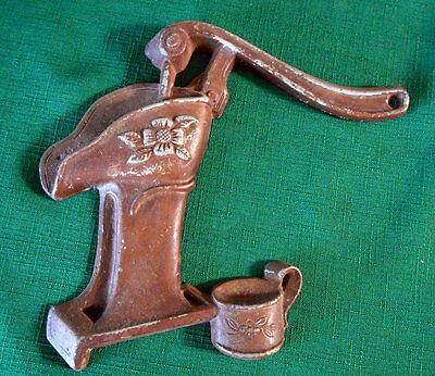 Vintage Sexton Cast Metal Wall Hang Decor Water Pump 1 Piece