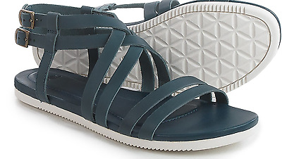 4fcb03175b7f New Teva Strappy Sandals Womens 8.5 Avalina Crossover Leather Blue Free Ship