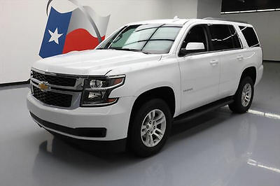 2017 Chevrolet Tahoe LT Sport Utility 4-Door 2017 CHEVY TAHOE LT 8-PASS HTD LEATHER NAV REAR CAM 8K #157152 Texas Direct Auto