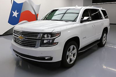 2015 Chevrolet Tahoe LTZ Sport Utility 4-Door 2015 CHEVY TAHOE LTZ SUNROOF NAV REAR CAM 20'S 34K MI #523089 Texas Direct Auto