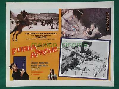 Lex Barker Last Of The Renegades Winnetou -2 Teil Western Mexican Lobby Card 4