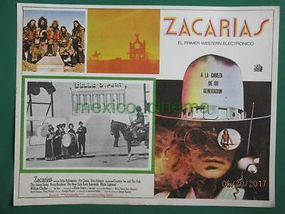 Zachariah John Rubinstein Country Joe And The Fish Spanish Mexican Lobby Card 8