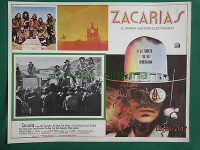 Zachariah John Rubinstein Country Joe And The Fish Spanish Mexican Lobby Card 6