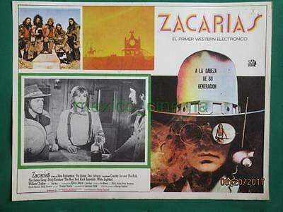 Zachariah John Rubinstein Country Joe And The Fish Spanish Mexican Lobby Card 7
