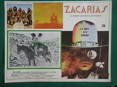 Zachariah John Rubinstein Country Joe And The Fish Spanish Mexican Lobby Card 5