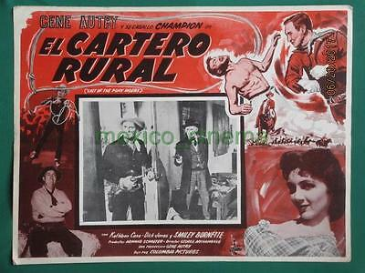 Gene Autry Last Of The Pony Riders Kathleen Case Western Mexican Lobby Card 2