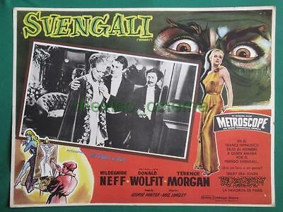 Svengali Hildegard Knef Donald Wolfit Beautiful Art Spanish Mexican Lobby Card 2