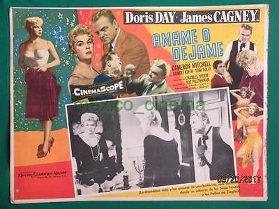 JAMES CAGNEY DORIS DAY LOVE ME OR LEAVE ME Ruth Etting MEXICAN LOBBY CARD 3